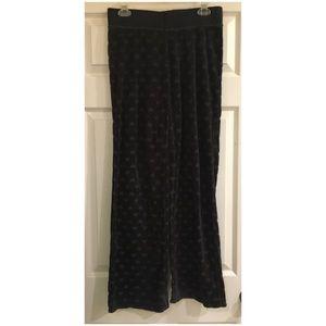 Juicy Couture Velour Heart Pants Size S